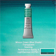 Winsor and Newton Winsor Green Blue Shade Professional Watercolour