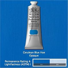 Winsor and Newton Cerulean Blue Hue Professional Acrylic