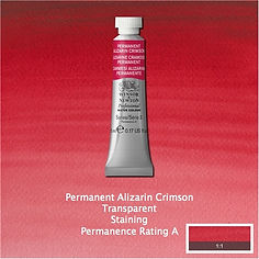 Winsor and Newton Permanent Alizarin Crimson Professional Watercolour