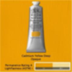 Winsor and Newton Cadmium Yellow Deep Professional Acrylic