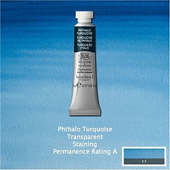 Winsor and Newton Phthalo Turquoise Professional Watercolour