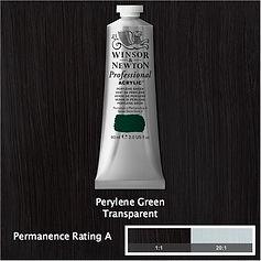 Winsor and Newton Perylene Green Professional Acrylic