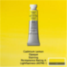 Winsor and Newton Cadmium Lemon Professional Watercolour