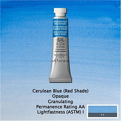 Winsor and Newton Cerulean Blue Red Shade Professional Watercolour