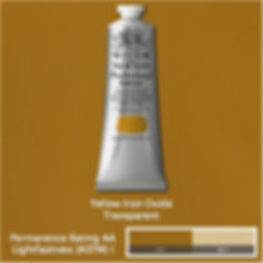Winsor and Newton Yellow Iron Oxide Professional Acrylic