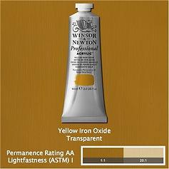 Winsor and Newton Yellow Iron Oxide Professional Acrylic