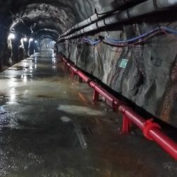 Miner Works-Tunnel Excavation
