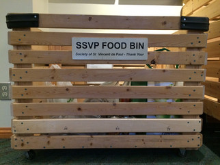SSVP Food Bin