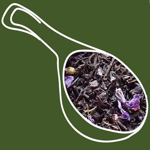 Te Negro violetas