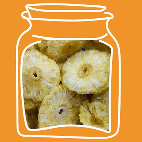 Piña deshidratada sin azucar