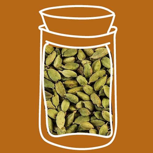 Cardamomo verde grano