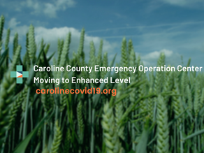 Caroline County Emergency Operations Center Moves from Partial Activation to Enhanced