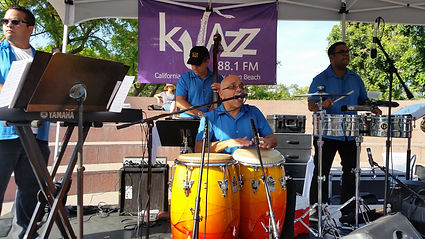 The Echo Park Project performing in Los Angeles at a concert sponsored by the Jazz station KJAZZ