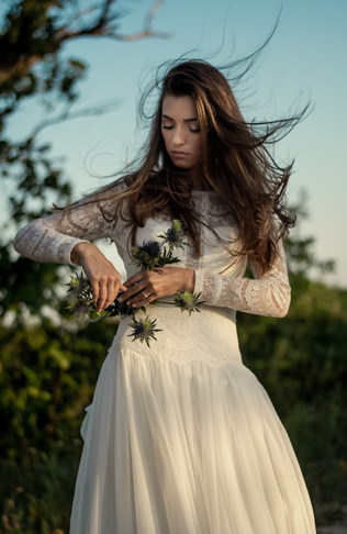 nevesta, svadobné fotenie