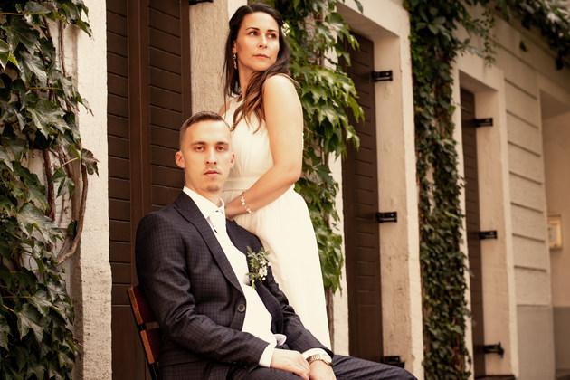 portrétové svadobné fotenie