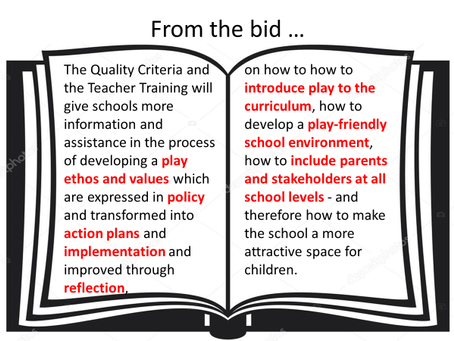 Developing Quality Criteria for a Play-friendly School