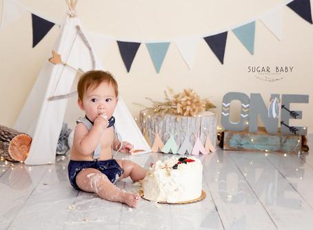 Sweet Baby for Sweet Cake Smash