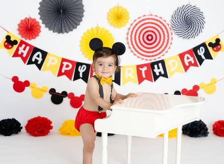 Cake Smash - Mickey Mouse