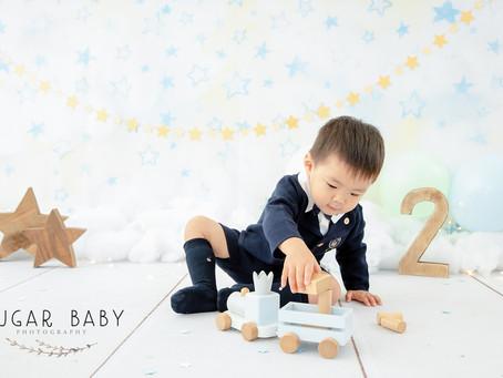 Second Year Birth Day Boy