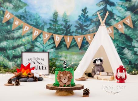 Who's in the Jungle? 1 Year Jungle theme Smash Cake