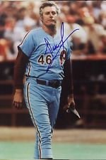 DALLAS GREEN 1980 PHILADELPHIA PHILLIES WORLD SERIES MANAGER SIGNED 8X10 PHOTO