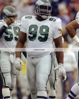 Jerome Brown Philadelphia Eagles 8x10 photo 46 defense