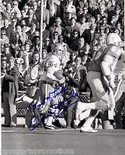 CHUCK HOWLEY DALLAS COWBOYS SUPER BOWL INTERCEPTION AUTOGRAPHED 8X10