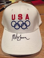 MIKE ERUZIONE SIGNED HAT USA MIRACLE ON ICE 1980 GOLD MEDAL DO YOU BELIEVE?