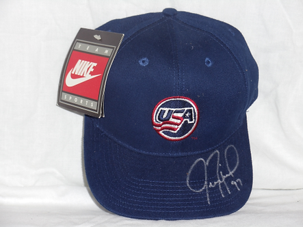 Jeremy Roenick autographed brand new USA Olympic Hockey hat Flyers Blackhawks