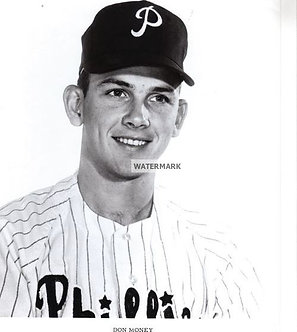 Don Money Philadelphia Phillies vintage photo