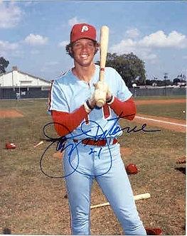 Jay Johnston Philadelphia Phillies autographed 8x10 photo