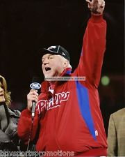 CHARLIE MANUEL PHILADELPHIA PHILLIES 2008 WORLD SERIES CHAMPIONSHIP 8X10 PHOTO