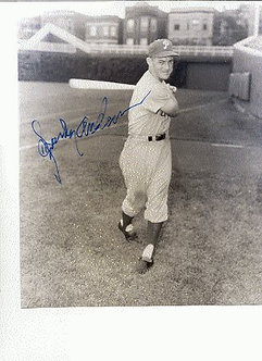 Sparky Anderson Philadelphia Phillies signed 8x10 Hall of Fame