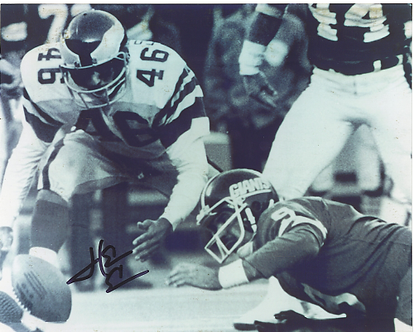 Herm Edwards Philadelphia Eagles autographed Miracle at the Meadowlands 8x10 #1