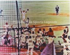 TUG MCGRAW MIKE SCHMIDT PHILLIES 1980 WORLD SERIES COLOR CELEBRATION #2