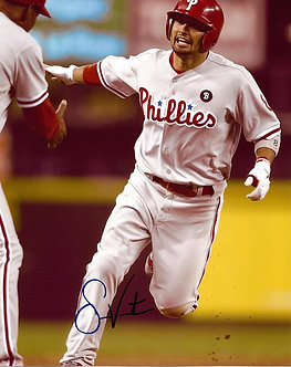 SHANE VICTORINO PHILADELPHIA PHILLIES SIGNED 8X10 PHOTO #2