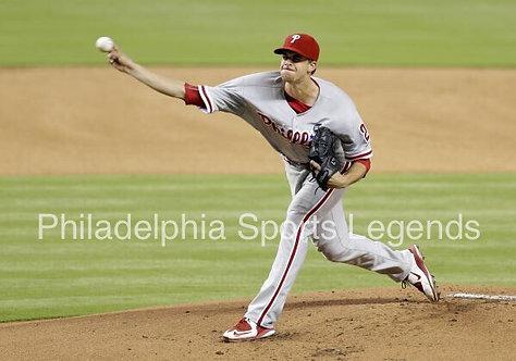 Aaron Nola Philadelphia Phillies action photo