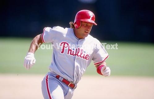 Darren Daulton 1993 Phillies unsigned photo #6