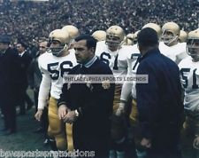 ARA PARSEGHIAN NOTRE DAME FIGHTING IRISH SIDELINE 8X10 NATIONAL CHAMPIONSHIP