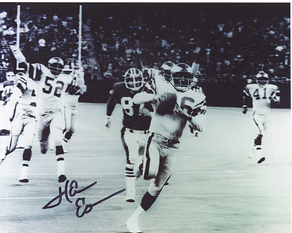 Herm Edwards Philadelphia Eagles autographed Miracle at the Meadowlands 8x10 #3