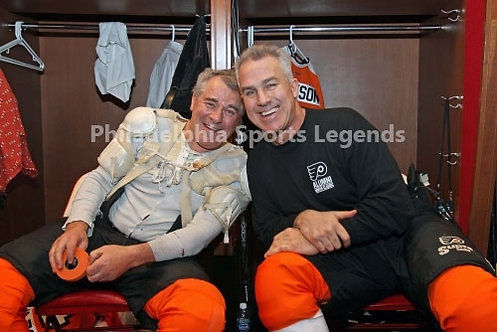 Jim Watson Joe Watson Philadelphia Flyers 2011 Winter Classic Alumni game