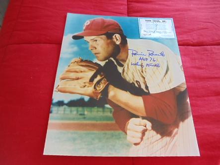 Robin Roberts Philadelphia Phillies autographed 11x14 photo Hall of Fame 76