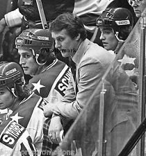 HERB BROOKS 1980 OLYMPIC HOCKEY MIRACLE ON ICE GOLD MEDAL PHOTO