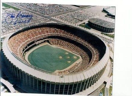 Jim Bunning Philadelphia Phillies signed First Vet Stadium win 8x10