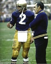 ARA PARSEGHIAN TOM CLEMENTS NOTRE DAME FIGHTING IRISH 8X10 NATIONAL CHAMPIONSHIP