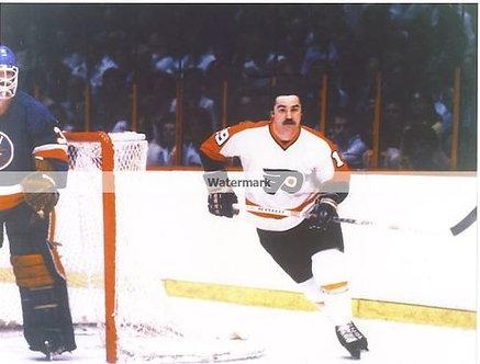 Rick MacLiesh (dec) Philadelphia Flyers color photo