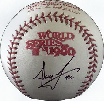 Dallas Green signed 8x10 PHOTO 1980 World Series Baseball