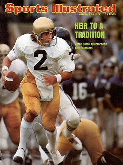 Tom Clements Notre Dame Sports Illustrated 8x10 photo