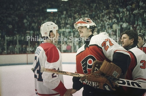 Ron Hextall Philadelphia Flyers Chris Chelios Canadiens Eastern Conference Final