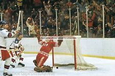 1980 OLYMPIC ICE HOCKEY MIRACLE ON ICE GOLD MEDAL GAME WINNING GOAL PHOTO